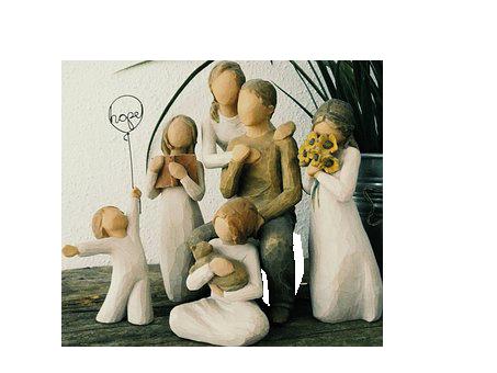 Familie Statue